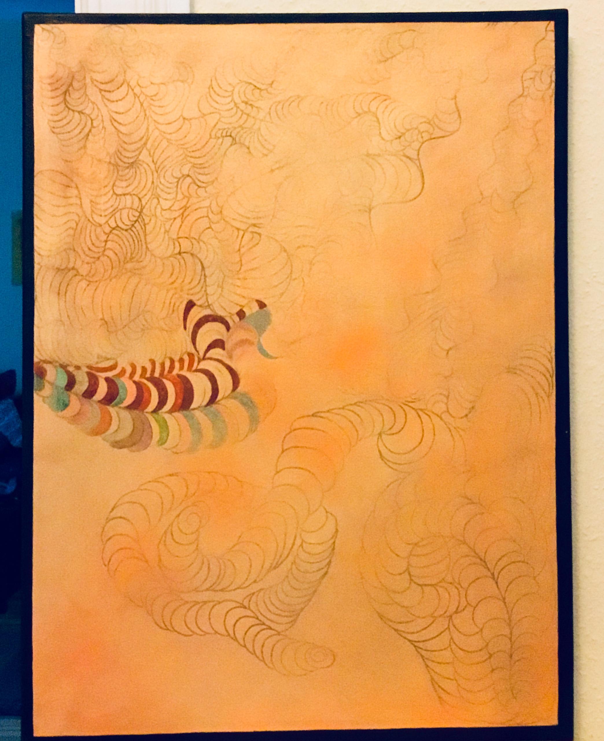 Abreise Acryl on Canvas 80 x 60 cm