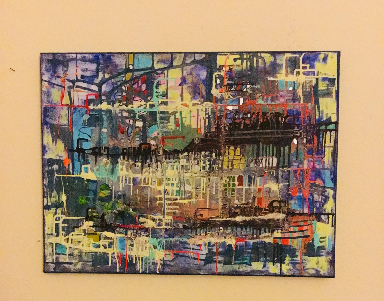 Verirrt Acryl on Canvas 60 x 80 cm