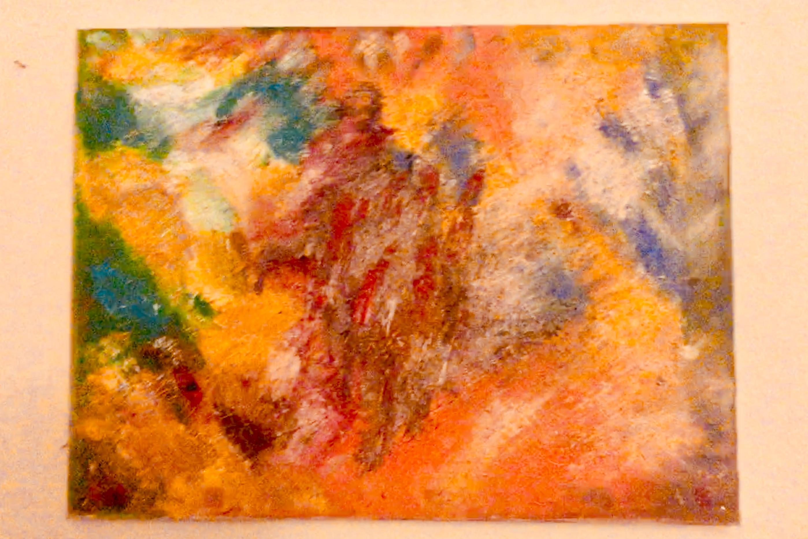 Dead Man Acryl on Canvas 60 x 80 cm