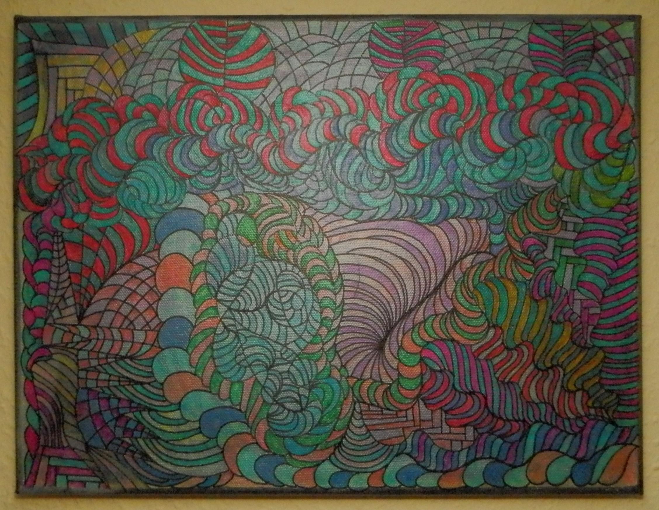 Acryl on Canvas 30 x 40 cm
