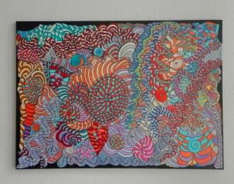 Acryl on Canvas 65 x 90 cm